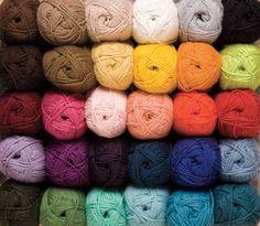CotLin DK Yarn Knitting Yarn from KnitPicks.com - Tanguis cotton & linen blend DK weight yarn