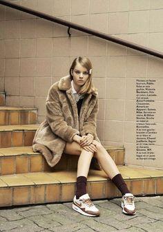 LE FASHION BLOG MARGOT TENENBAUM INSPIRED EDITORIAL GRAZIA FRANCE 3 Grunge,  Editorial Fashion, Amai 0f481e676170