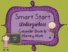 Kindergarten Morning Work - Calendar Time w/ Daily Literacy & Math Review from J Varner on TeachersNotebook.com -  (55 pages)  - 10 weeks (50 pages) worth of Interactive Calendar Time/Morning Work for Kindergarten! This set would also be great for PreK. Numerous skills practiced including: sight words, word families, handwriting, addition, syllables, counting, sorting, rhyming, pat