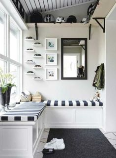 Sunroom storage