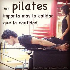 "@inspirahpilates's photo: ""En #pilates importa mas la calidad que la cantidad :)"""
