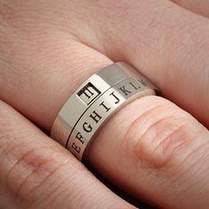 Secret Decoder Ring $15.99