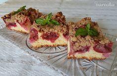 Voňavý slivkový kysnutý koláč (fotorecept) - recept | Varecha.sk Ale, French Toast, Deserts, Breakfast, Food, Basket, Morning Coffee, Desserts, Ales
