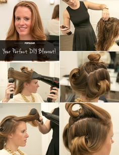 Your guide to a perfect DIY blowout!