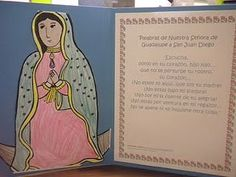 Juan Diego and Our Lady of Guadalupe Crafts and Feast Day Ideas