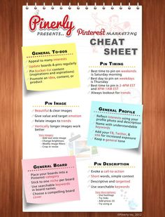 Pinterest Cheat Sheet and Tips to Better Use the Network  http://www.iblogzone.com/2012/10/pinterest-cheat-sheet-marketing-tips.html
