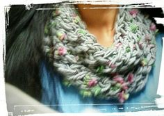 Cowl Scarf, Crochet Necklace, Handmade, Fashion, Hand Made, Moda, Hooded Scarf, Craft, Fasion