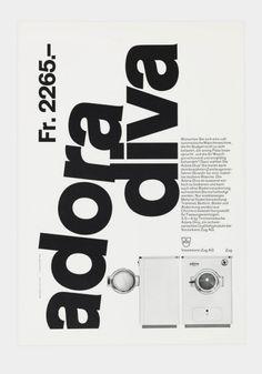 adora diva, 1960-1961 Design: Siegfried Odermatt