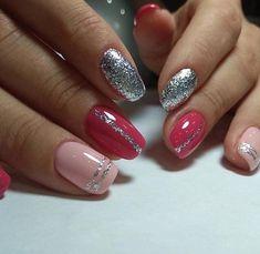 Semi-permanent varnish, false nails, patches: which manicure to choose? - My Nails Shellac Nails, My Nails, Cute Nails, Pretty Nails, Latest Nail Art, Manicure E Pedicure, Elegant Nails, Artificial Nails, Prom Nails