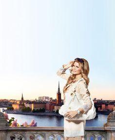 Valerie Aflalont - Swedish model en designer - Fashion Expert for Oriflame