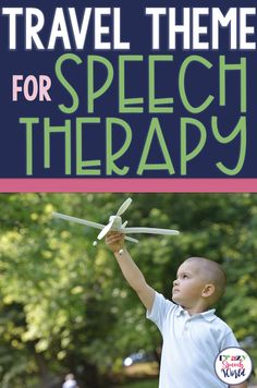 Theme Speech Therapy: Travel! (Plus Freebie)