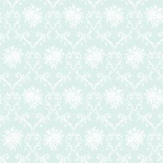 Elizabeth Duck Egg Blue wallpaper by The Paper Partnership