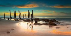 Sunset over old Port Willunga Jetty | by Mykel46