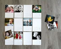Free printable 2016 mini photo calendar - personalize it with your own photos for an easy, inexpensive handmade Christmas gift idea for Dad or Grandparents. Christmas Presents For Moms, Handmade Christmas Gifts, Best Christmas Gifts, Gifts For Dad, Christmas Fun, Diy Gifts Using Photos, Mini Diy, Photo Calendar, Family Calendar