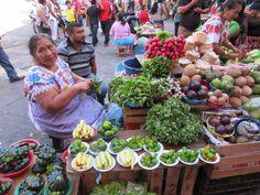 The Lucas Galvez Farmer's market in Merida Mexico is a feast of colour.