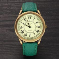 Women Dress Watches Women Vintage Leather Watches Fashion Quartz Retro Sports Vintage WristWatches 2016 New relogio feminino Item Type: Wristwatches Case Material: Alloy Dial Window Material Type: Gla