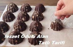 lezzet Ödülü Alan Tatlı Tarifi Cake Recipes, Food And Drink, Cookies, Chocolate, Desserts, Candy, Kitchens, Food And Drinks, Recipes