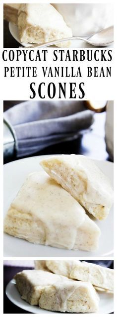 Make this straight from your own kitchen, Starbucks popular Petite Vanilla Scone a copycat recipe that people will not be able to tell the difference. Weight Watcher Desserts, Keto Friendly Desserts, Low Carb Desserts, Vanilla Bean Scones, Vanilla Scones Recipe Easy, Breakfast Recipes, Dessert Recipes, Scone Recipes, Copycat Recipes Desserts