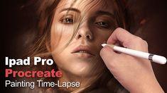 Ipad Pro Procreate Painting 21 sept 2017 - YouTube