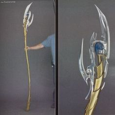 Making Loki's Sceptor / Staff from the Avengers. (Crazy cool instructions for building this, but lots of great ideas for constructing staffs in general for cosplay purposes!!!)