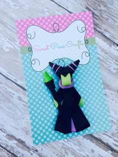 Maleficent Villain Sleeping Beauty Hair Bow by MySweetPeasCrafts, $5.99