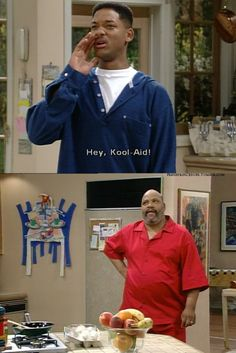 On red pajamas: 30 Times The Fresh Prince Was The Wittiest Person On TV Fresh Prince, Willian Smith, Prinz Von Bel Air, Funny Memes, Hilarious, Tv Quotes, Just For Laughs, The Fresh, The Funny