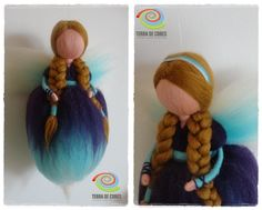 felted fairy by TERRA DE CORES