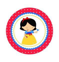 Minus - Say Hello! Decorating Toddler Girls Room, Snow White Prince, Snow White Birthday, Prince Party, Disney Princess Party, Tent Cards, Ideas Para Fiestas, 1st Birthday Girls, Cute Images