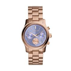 Michael Kors Ladies Runway Watch MK6163 - £194.75 - Michael Kors Ladies Runway Watch Mk6163