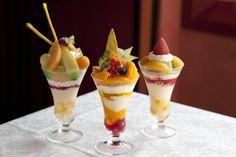 資生堂パーラー銀座本店で「真夏のパフェフェア」開催!旬の桃やマンゴーを贅沢に