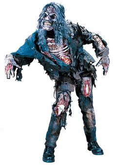 Adult Zombie costume #Halloween #Scary