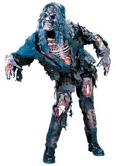 Adult Zombie costume #Halloween #Scary