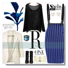 """""""SheIn"""" by amethyst0818 ❤ liked on Polyvore featuring Gianvito Rossi, Tiffany & Co. and Nicole By Nicole Miller"""
