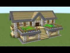 Minecraft - How To Build A Birch Survival House - Minecraft Servers Web - MSW - . - Minecraft – How To Build A Birch Survival House – Minecraft Servers Web – MSW – Channel Villa Minecraft, Minecraft Mods, Plans Minecraft, Architecture Minecraft, Minecraft Server, Minecraft World, Cute Minecraft Houses, Minecraft House Tutorials, Minecraft Houses Survival