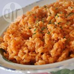 Arroz rojo fácil @ allrecipes.com.mx