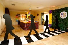decoracao festa beatles