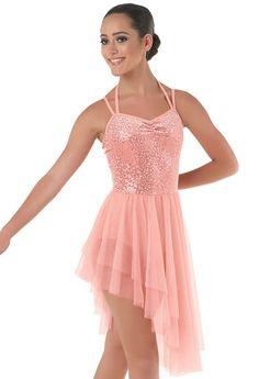 Sequin Plush Soft Tulle Dress