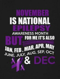 November epilepsy awareness month