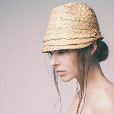 BLANC SS15 Hat Making, Ss 15, Bucket Hat, Hats, Showroom, Unique, Fashion, Moda, Bob