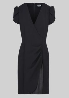 STRETCH WOOL PRINCESS DRESS: Dresses Women by Armani - 2