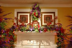 Fireplace Mantel. What a WOW factor.