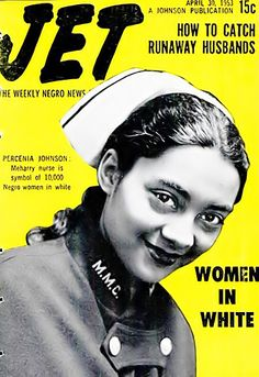 Percenia Johnson is one of the Many Women in White - Jet Magazine, April 30, 1953