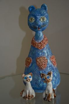 #ceramic #handmade #heykey #mask #maske #sculpture #seramik #elyapımı #cat #vase #kedi #vazo #cats #kediler