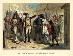 """An engraving possibly produced by A. Bollet Co. titled """"Governor Tryon and the Regulators."""" From the Bruce Cotten Collection, North Carolina Collection Photographic Archives, University of North Carolina at Chapel Hill Library. Diana Gabaldon Outlander Series, Outlander Book, Outlander Season 1, The Fiery Cross, Drums Of Autumn, Starz Series, Fictional World, My Ancestors, American War"""