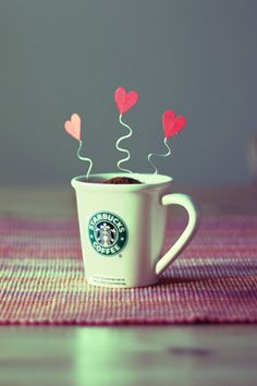 Love starbucks-coffe, especially their vanilla frappuccino. I Love Coffee, Coffee Break, My Coffee, Morning Coffee, Coffee Shop, Coffee Cups, Coffee Drinks, Wallpaper Stores, Love Wallpaper