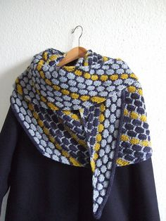 Ravelry: Project Gallery for Ice Cream Shawl pattern by Lisa Hannes