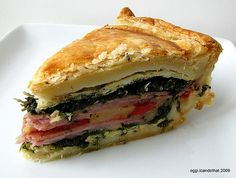 Tourte Milanese--adapted from julia child Milanese Recipe, Baking With Julia, Cooking Photos, Mets, Love Food, The Best, Cooking Recipes, Nytimes Recipes, Cooking Food