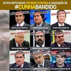 *Por Via Das Dúvidas*: Quem Defende Cunha? * Antonio Cabral Filho - RJ