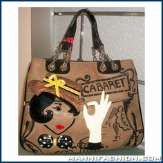 Braccialini Borsa BR-B6991 (A/I 2012) Reusable Tote Bags, Fashion, Moda, Fashion Styles, Fashion Illustrations