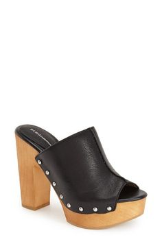 BCBGeneration 'Karena' Platform Mule (Women) available at #Nordstrom